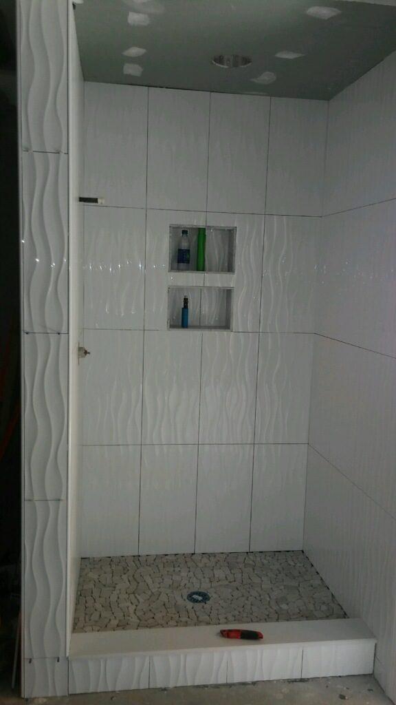 shower remodel image
