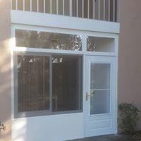 Acrylic window cabana door