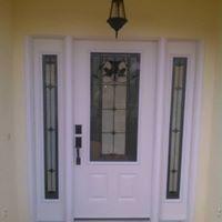 Entry Door full lite side lights