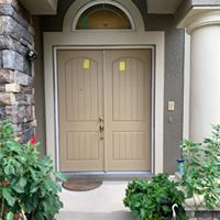 Solid double entry doors installed in Brooksville, FL